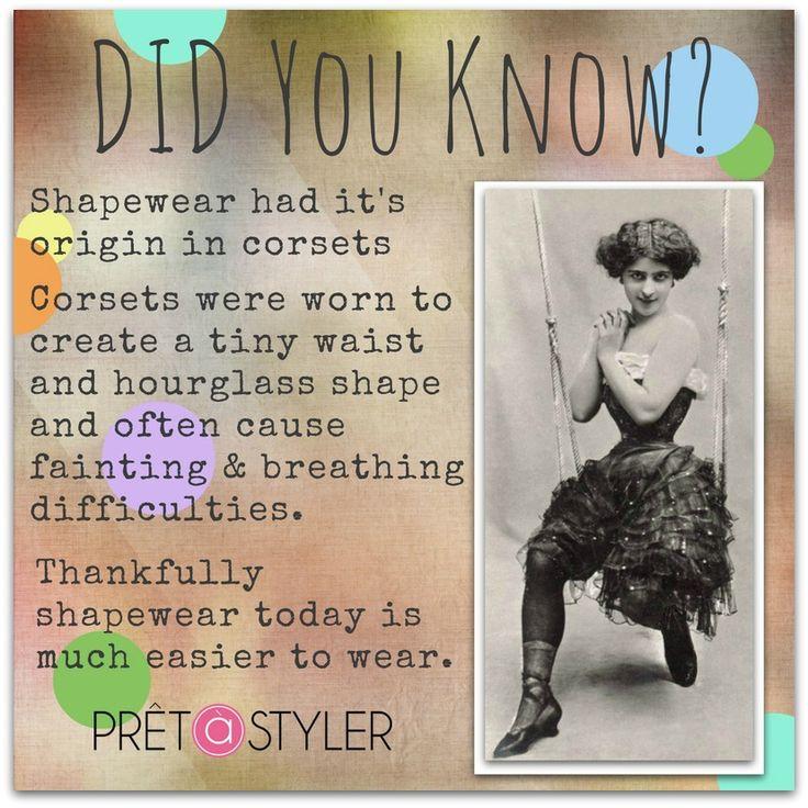#fashionhistory #shapewear #corsets #annreinten #p;retastyler #myprivatestylist