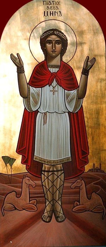 St Mina by Dr Stephane Rene