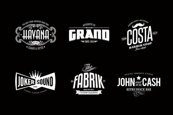 Badges & Logos Vol.02 by Easybrandz