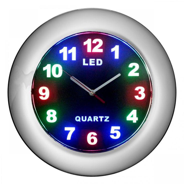 """12"""" LED Wall Clock"""