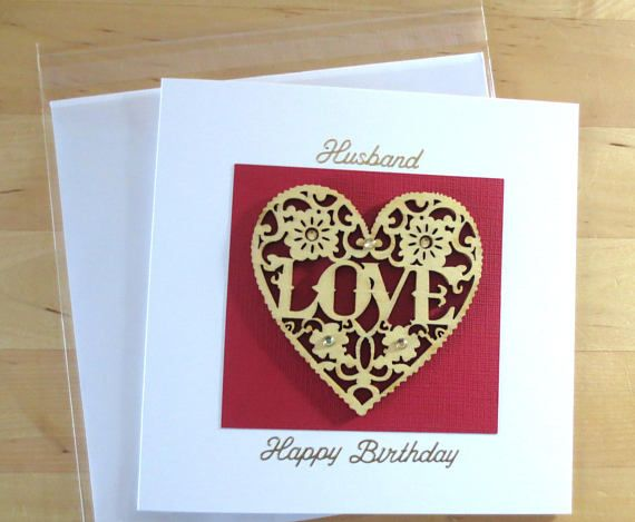 Husband Birthday Card Birthay Unique Cards Gift