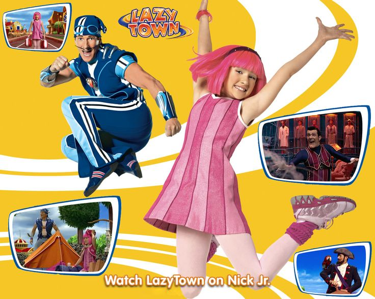 Nickelodeon shows home lazy town wallpapers lazy for 90s wallpaper home