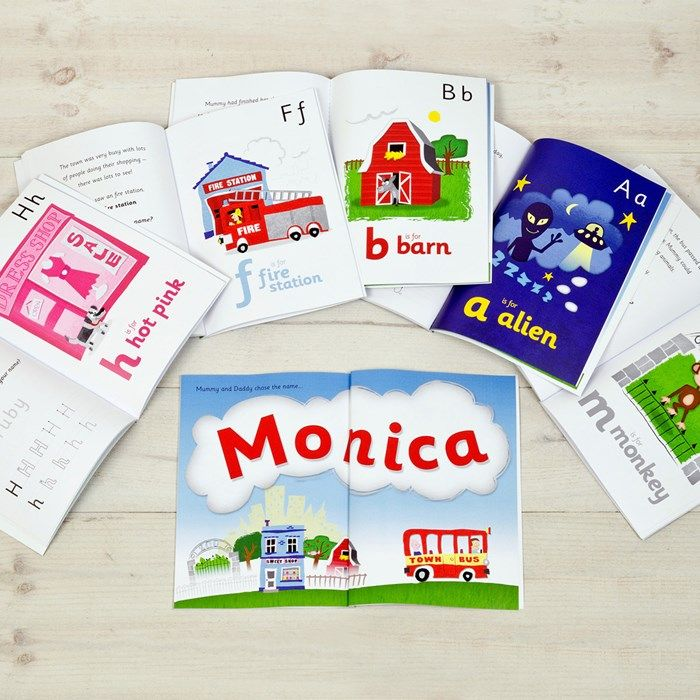 Personalised Children's Book - My Name Is... | GettingPersonal.co.uk