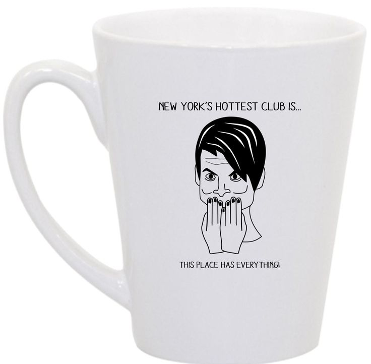 Stefon- SNL coffee mug. $16.00, via Etsy.