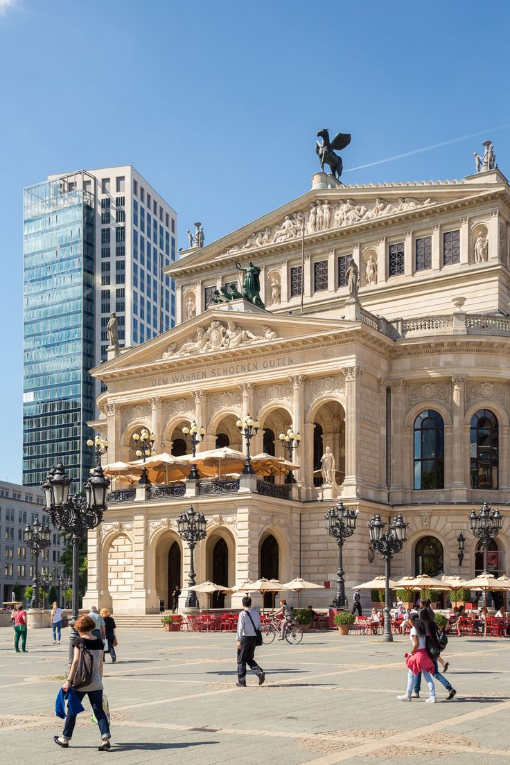 The Old Opera House - Frankfurt, Germany