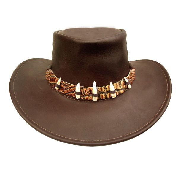 The Croc - Leather Australian Hat