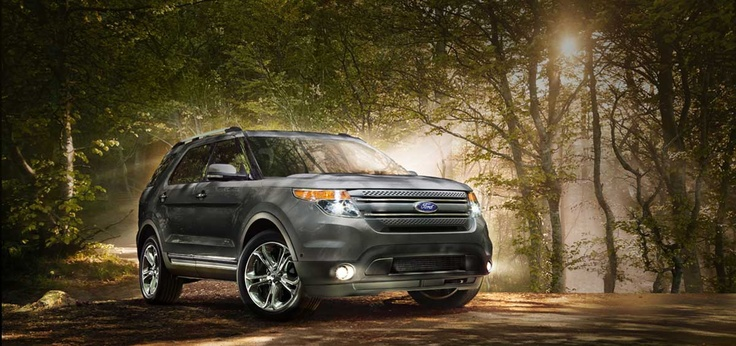 2013 Ford Explorer Limited in Sterling Gray