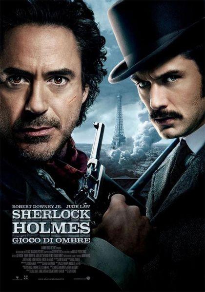 SHERLOCK HOLMES - GIOCO DI OMBRE - Un film di Guy Ritchie. Il sequel supera il primo capitolo, per divertimento e qualità narrativa. valutazione: 3,75 su 5.