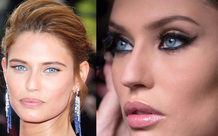 Make up day to night come Bianca Balti #copia il look #fashion #makeup #silhouettedonna http://www.silhouettedonna.it/make-up/copia-il-look/make-up-from-day-to-night-56319/