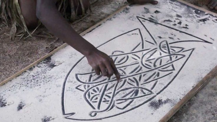 vanuatu sand drawing description - Google Search