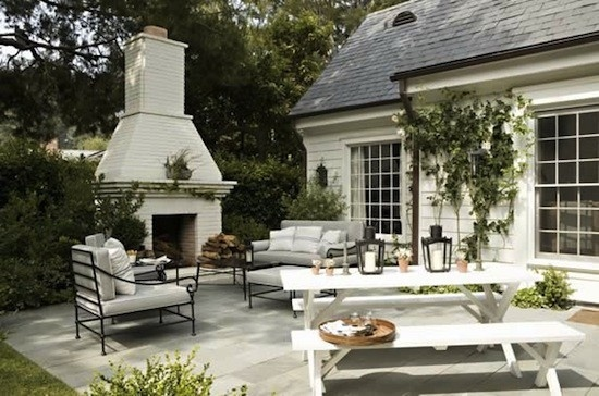 fireplace, patio, add an outdoor tv and I'm in!