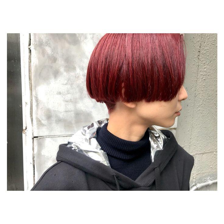 ▶︎▶︎▶︎✂︎ . 赤のダブルコーティング。 . ブリーチなしで明るくし続けた髪に 赤のダブルカラーを☺︎ . . . . #hairstyle #haircolor#shorthair#bob#redhair#red#fashion#mode#streetfashion #ヘアカラー#赤髪#ボブ#ダブルカラー#ショートヘア#ショートボブ#赤#ファッション#ストリートファッション#モード#大阪#堀江#美容室