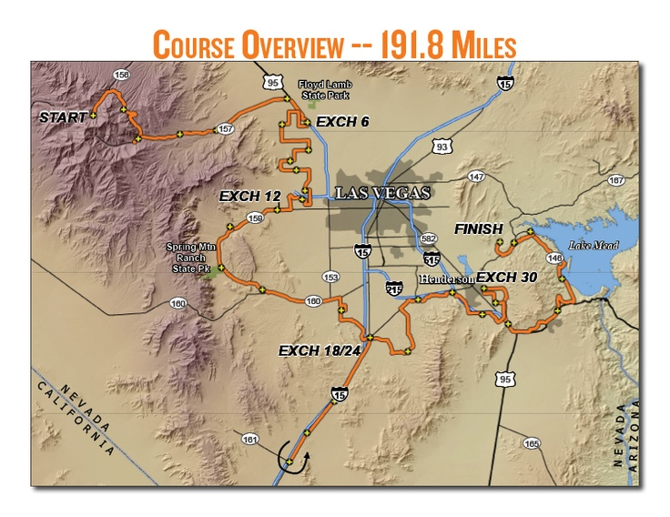 22 Best Ragnar Images On Pinterest Running A Group And Happiness: Las Vegas Half Marathon Course Map At Infoasik.co