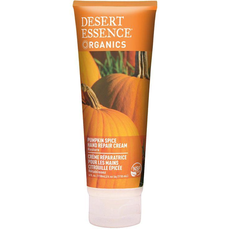 Desert Essence, Crema para las Manos, Sabor a Especias de Calabaza, 4 fl oz (118 ml)