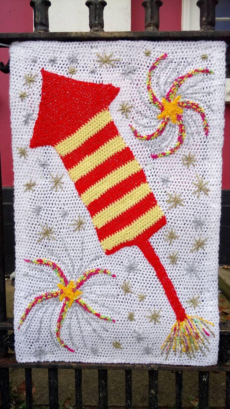 Yarn bomb Haverfordwest