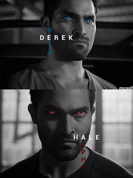 Teen Wolf ~ Derek - Beta and Alpha