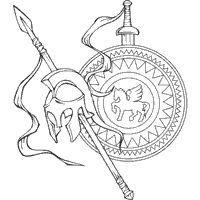 ancient greek olympics coloring pages ancient greece