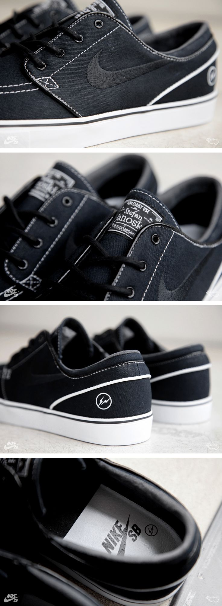fragment design x Nike SB Zoom Stefan Janoski (Detailed Pictures)
