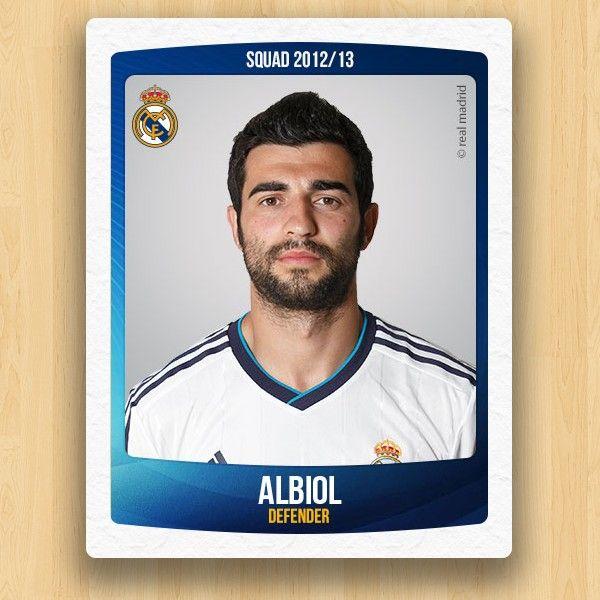 Real Madrid Collections - Raúl Albiol Tortajada