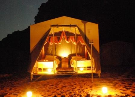 Rainbow Camp at Wadi Rum