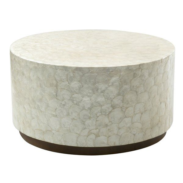 Dalvey Coffee Table Drum Coffee Table Solid Coffee Table Coffee Table Wood