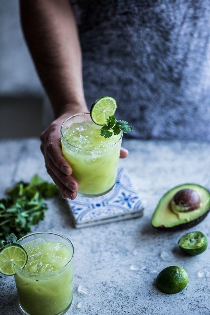 Avocado And Lime Margarita  {wineglasswriter.com/}