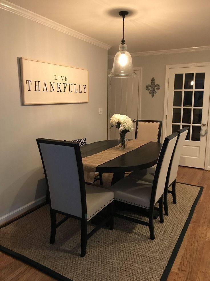 30 Wonderful Farmhouse Style Dining Room Design Ideas 2019 2