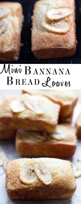 Mini Banana Bread Loaves - Erren's Kitchen