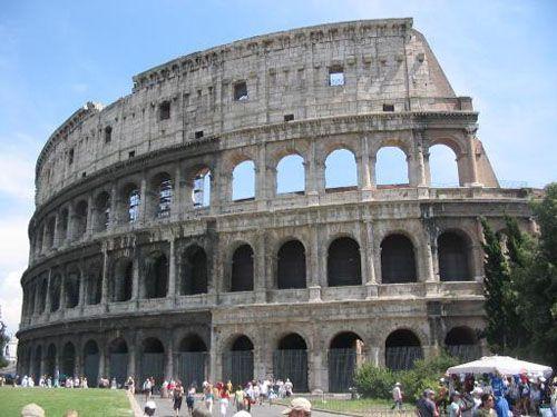 Амфитеатр. Колизей (Рим, Италия)