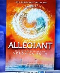 Allegiant book 3 cover