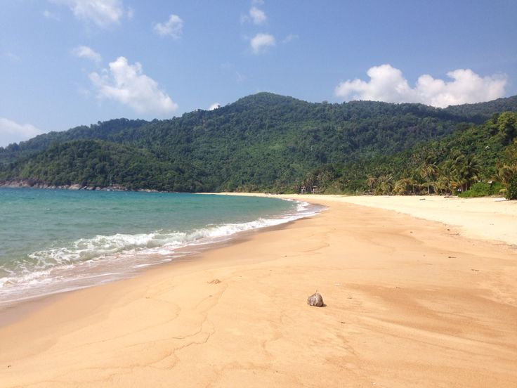 Juara beach, absolute relaxation #malaysia #travelling