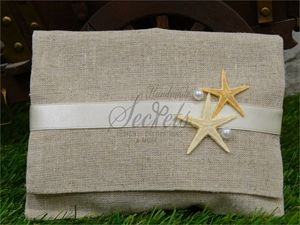Picture of Μπομπονιέρα γάμου φάκελος με αστερίες