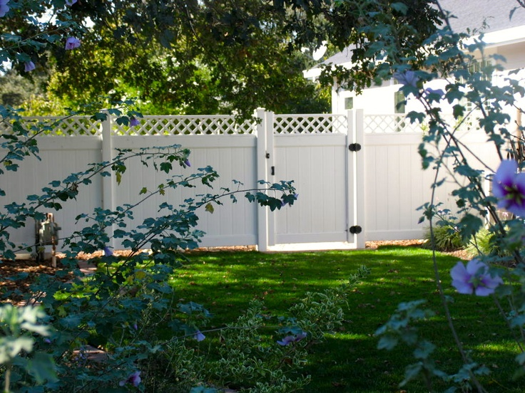 79 Best Vinyl Fence Images On Pinterest Fences Vinyls