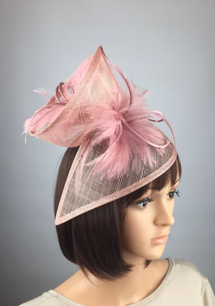 Excited to share the latest addition to my #etsy shop: Blush Pink Fascinator wedding mother of the bride hatinator Ladies Day & Ascot races, occasion event prom #weddings #accessories #pink #rosegold #ladiesday #duskypink #prettyelegant1 #pastelpink #churchhat