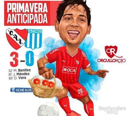 2015 Independiente 3 Racing Club 0