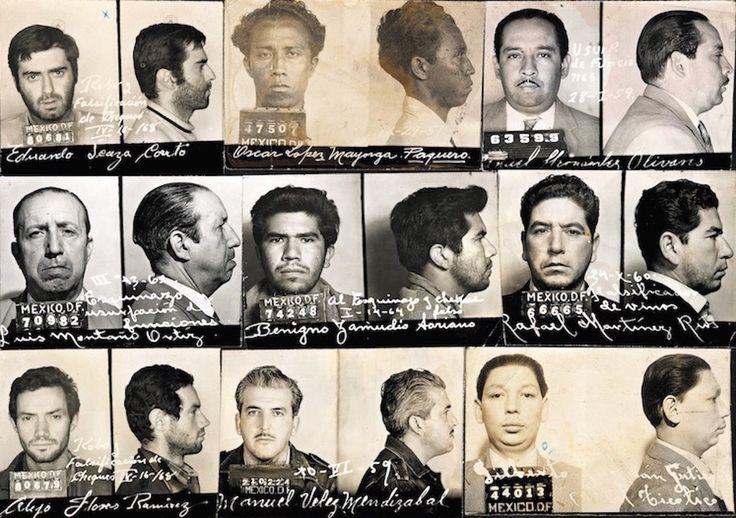 Fotografías perdidas de los archivos de la policía mexicana | VICE | México