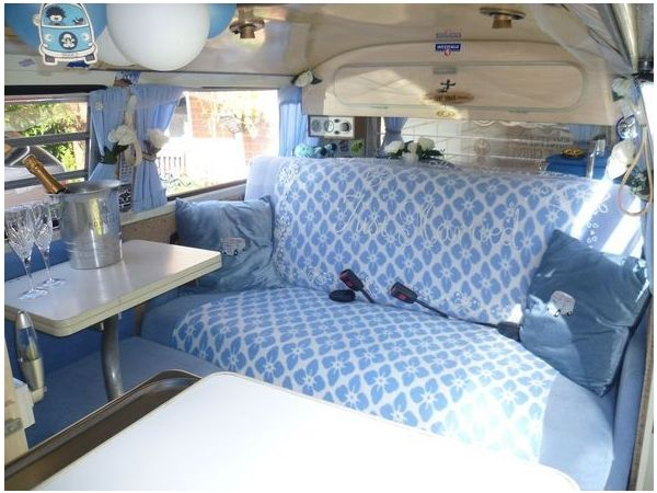 Chauffeur driven VW Camper Van Wedding Hire Reading/Newbury/Bracknell  Reading Picture 2