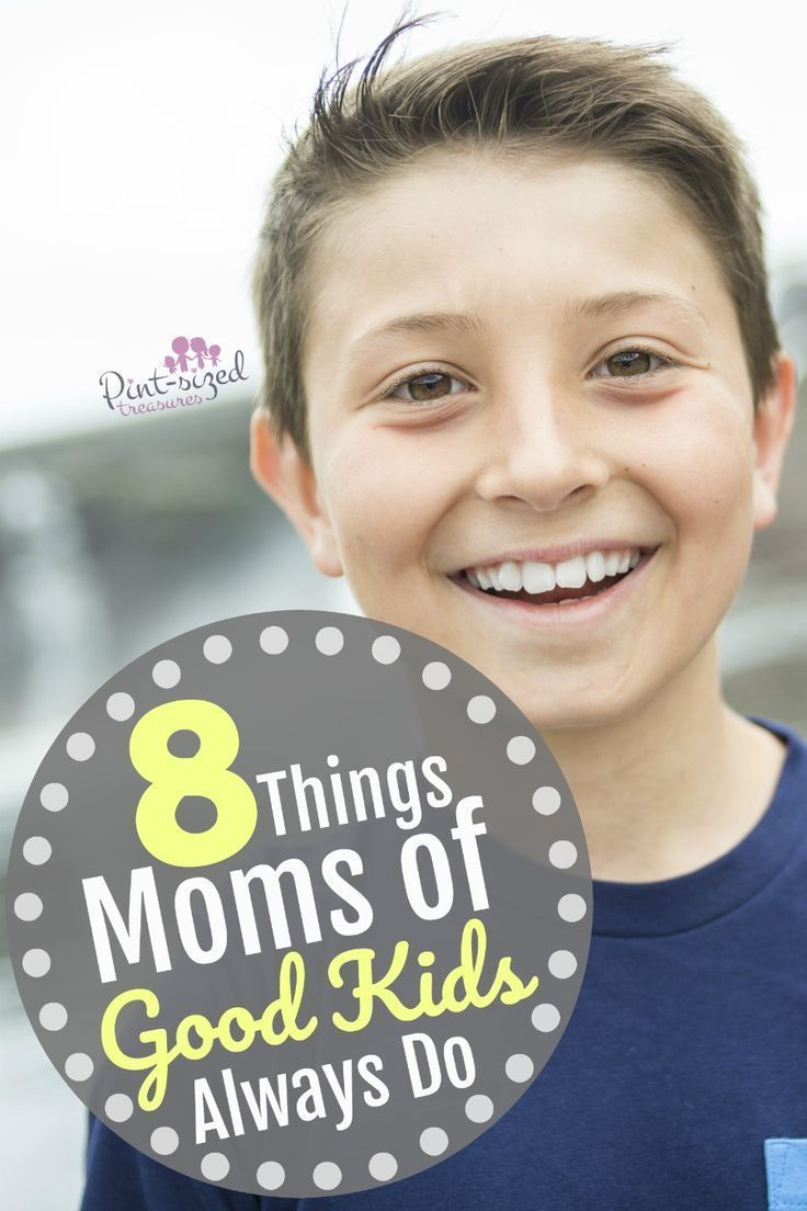 Ever wonder what moms of good kids always do? The secrets out! See if you're doing these things too! We all want  to bemoans of good kids, right? You'll love this mom-to-mom advice that's imperative to your parenting journey!