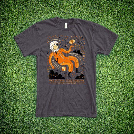 T-Shirt: Valentina Tereshkova