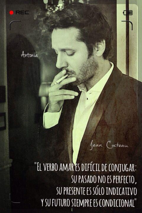 Benjamín Vicuña y Jean Cocteau