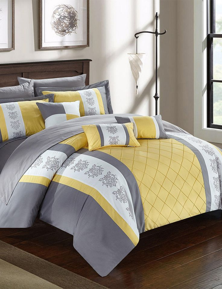 Shop today for Chic Home Design Dalton Yellow Mixed Print Comforter Set & deals on Comforters & Comforter Sets! Official site for Stage, Peebles, Goodys, Palais Royal & Bealls.