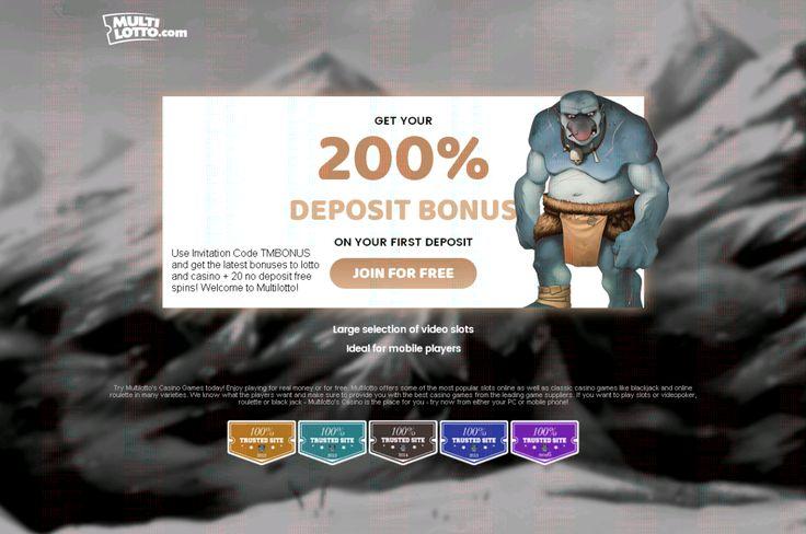 Som ny kunde får du to GRATIS LOTTERYTICKETER til Multilotto.com hjemmeside, hvor du kan spille forskellige lotteri og lotto som Powerball, EuroMillions, Eurojackpot, Mega Millions, Mega-Sena, Supe…