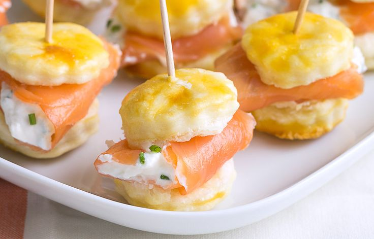 Smoked Salmon puffed bites—These caterer-style appetizers are so easy to make. Simple yet sophisticated, they'll be the perfect starters for your Christmas Eve, Christmas Day, and New Year's Eve di…