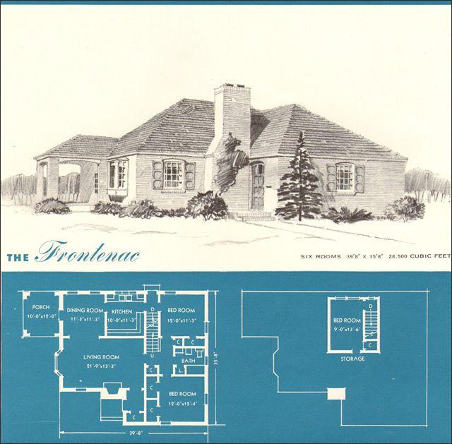 1945 Frontenac - New Era Houses - Brown-Blodgett Co. Plan Book