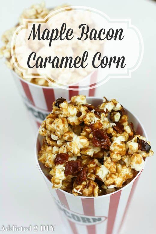 ... : Popcorn on Pinterest | Kettle corn, Caramel corn recipes and Spicy