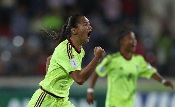 Vinotinto femenina venció a Canadá y clasificó a cuartos en Mundial de Fútbol sub 17 | Correo del Orinoco 07 10 2016