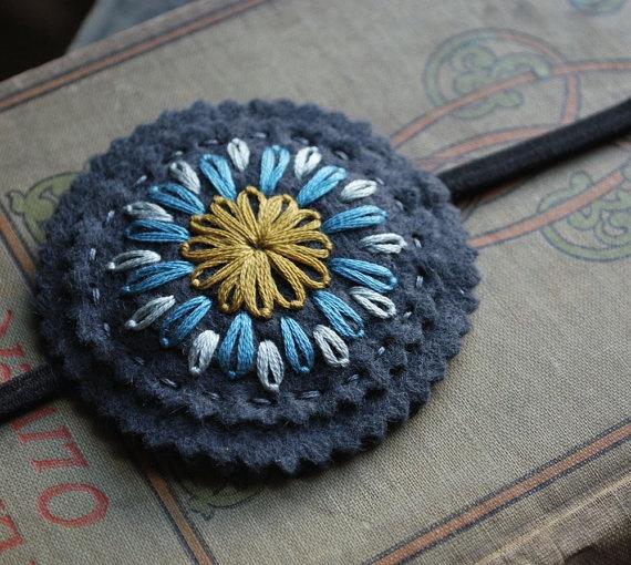 embroidered felt - lovemaude