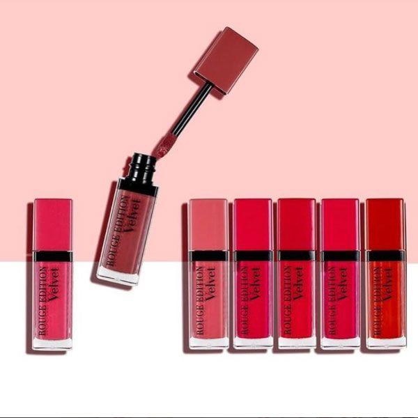 Bold, vibrant & matte - Bourjois Rouge Edition Velvet