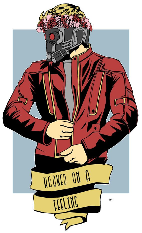 Starlord/ Peter quill ( guardians of the galaxy)