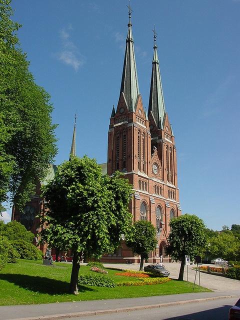 Skien church by Jan Christensen2010, via Flickr